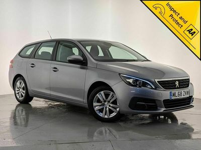 used Peugeot 308 SW 1.5 BlueHDi Active (s/s) 5dr 1 OWNER SVC HISTORY SAT NAV Estate 2018