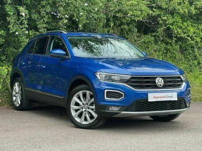 used VW T-Roc 2017 1.5 TSI SEL 150PS EVO DSG