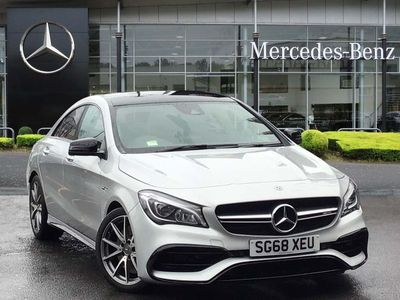 used Mercedes CLA45 AMG 4Matic 4dr Tip Auto