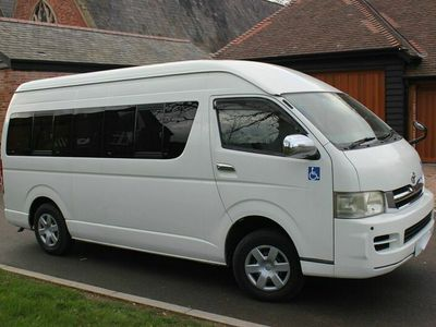 used Toyota HiAce GL Extra Wide and Long Wheelchair Accessible 4WD 2.5