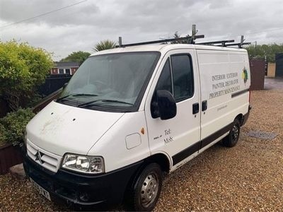 used Citroën Relay 1100 SWB PV HDI,NO VAT TO PAY