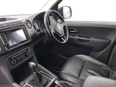 used VW Amarok D/Cab Pick Up Highline 2.0 Bitdi 180 Bmt 4Mtn Auto pickup 2017