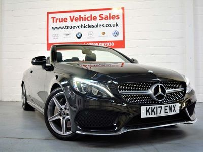 used Mercedes C250 C Class 2.1AMG Line Cabriolet G-Tronic+ (s/s) 2dr