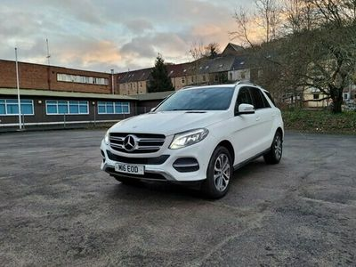 used Mercedes GLE250 GLE4Matic Sport 5dr 9G-Tronic White 1 owner