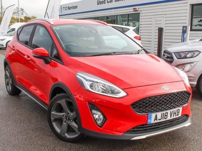 used Ford Fiesta 2018 Burton On Trent 1.0 EcoBoost Active 1 5dr