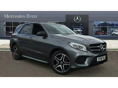 used Mercedes GLE250 4Matic AMG Night Ed Prem + 5dr 9G-Tronic Diesel Estate