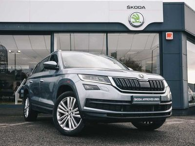used Skoda Kodiaq Diesel 2.0 TDI 190 Edition 4x4 5dr DSG (7 Seat) SUV 2018