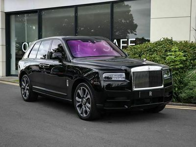 used Rolls Royce Cullinan V12 Viewing Suite estate