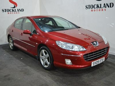 used Peugeot 407 2.0 HDi 140 Sport 4dr