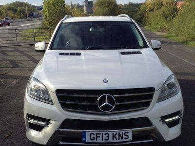 used Mercedes ML250 M Class 2.1CDI BlueTEC AMG Sport 7G-Tronic Plus 4x4 5dr