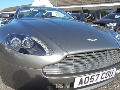 used Aston Martin Vantage Coupe 2d Sportshift Roadster