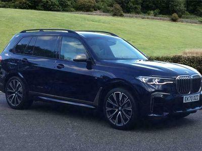 used BMW X7 DIESEL ESTATE xDrive M50d 5dr Step Auto [6 Seat]