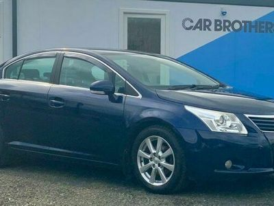 used Toyota Avensis 1.8 TR VALVEMATIC 4d 145 BHP