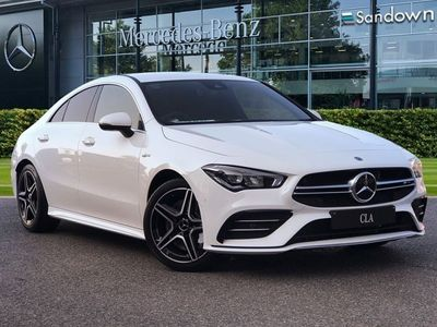 used Mercedes CLA35 AMG Cla4Matic 4dr Tip Auto