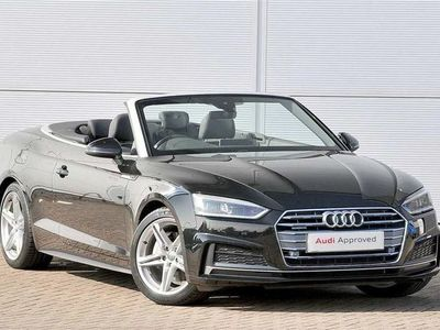 used Audi A5 Cabriolet S line 2.0 TDI quattro 190 PS S tronic