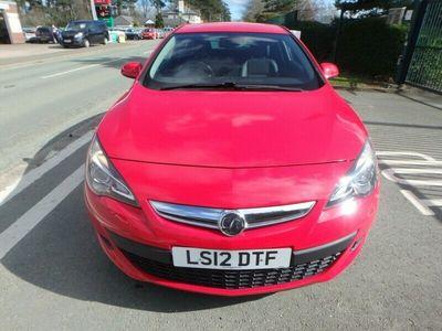 used Vauxhall Astra 1.4i 16v Turbo (140ps) SRi (s/s) Coupe 3d 1364cc