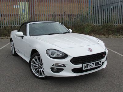used Fiat 124 Spider 1.4 MULTIAIR LUSSO CONVERTIBLE 2dr
