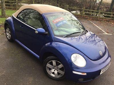 used VW Beetle 1.6 Luna Cabriolet 2dr
