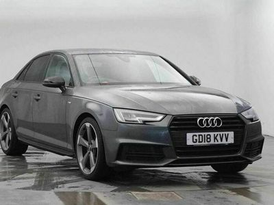 used Audi A4 1.4 TFSI Black Edition S Tronic (s/s) 4dr