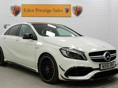used Mercedes A45 AMG A-Class 2.0 AMG4MATIC PREMIUM 5d 375 BHP Contactless Home Delivery PLUS C&C