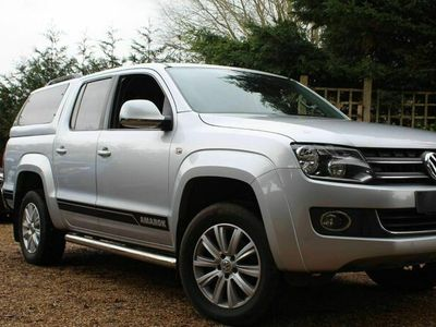 used VW Amarok 2.0 BiTDI BlueMotion Tech Highline+ Per Pickup 4MOTION 4dr