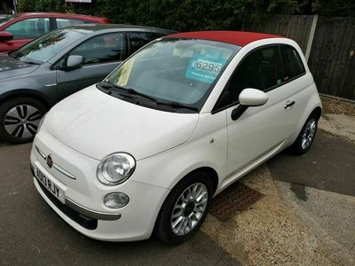 used Fiat 500C 0.9 Lounge Dualogic 2dr