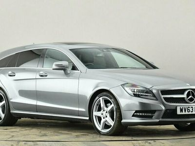 used Mercedes CLS250 CDI BlueEFFICIENCY AMG Sport 5dr Tip Auto Leather Seats 2.2