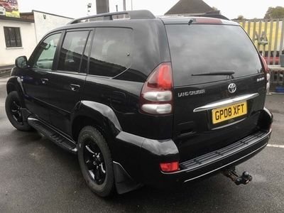 used Toyota Land Cruiser Station Wagon 3.0 D-4D Invincible (173ps) 5d Auto