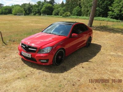 used Mercedes C350 C Class 3.0CDI BlueEFFICIENCY AMG Sport Plus 7G-Tronic Plus 4dr (Map Pilot)