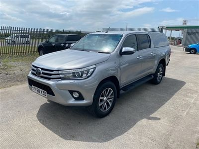 used Toyota HiLux INVINCIBLE 4WD D-4D DCB Auto
