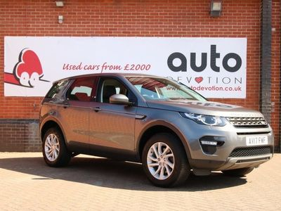 used Land Rover Discovery Sport TD4 SE TECH Auto