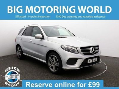 used Mercedes GLE350 D 4MATIC AMG LINE 3.0 5dr