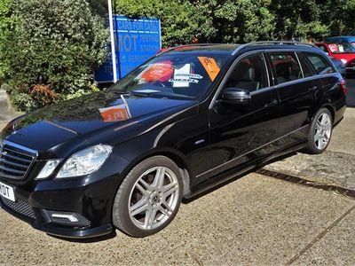 used Mercedes E250 E ClassCDI BlueEFF Sport Edition 125 5dr Tip Auto