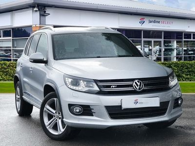 used VW Tiguan 2.0 TDi BlueMotion Tech R Line Edition 150 5dr DSG Estate 2016