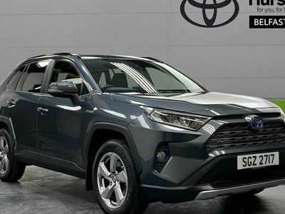 used Toyota RAV4 ESTATE 2.5 VVT-i Hybrid Design 5dr CVT