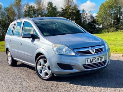 used Vauxhall Zafira 1.6 Exclusiv 5dr