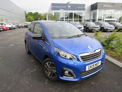 used Peugeot 108 1.0 72 Allure 5dr