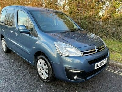 used Citroën Berlingo Multispace Euro 6 Wheelchair Accessible Disabled Access Ramp Car 1.6 5dr