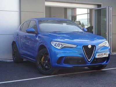 used Alfa Romeo Stelvio 2.9 BiTurbo Quadrifoglio AWD (s/s) 5dr