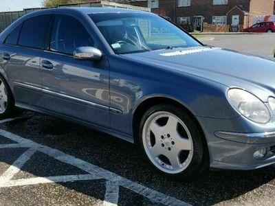 used Mercedes E270 E Class 2.7CDI Avantgarde 4dr