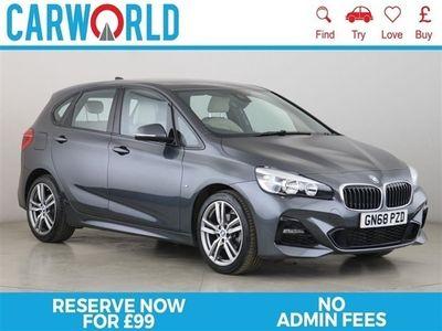 used BMW 218 Active Tourer 2 SERIES 1.5 I M SPORT 5d 139 BHP