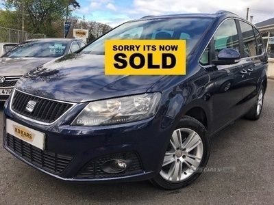 used Seat Alhambra XCELLENCE TDI S-