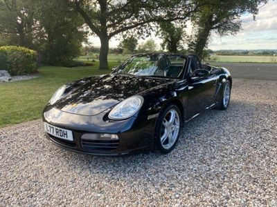 used Porsche Boxster S 3.2 24V PETROL 280 BHP 6 SPEED MANUAL SPORTS CONVERTIBLE