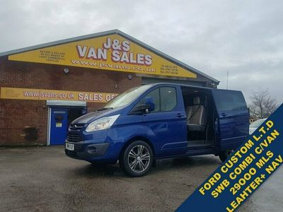 used Ford Custom TRANSIT2.2 290 LIMITED LR DCB COMBI ONLY 29K MLS