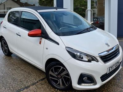 used Peugeot 108 null top hatchback special editions