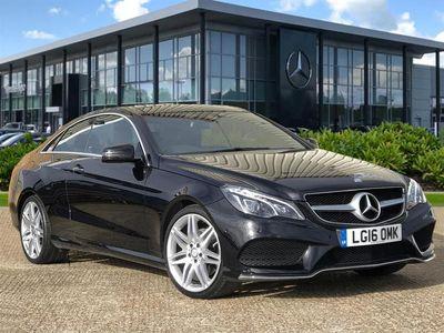 used Mercedes E220 E CLASS 2016 WesthamBluetec Amg Line Premium 2Dr 7G-Tronic