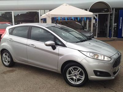 used Ford Fiesta 5dr Hat 1.0t 100 Zetec Ecobst S/s