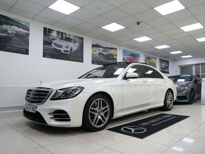 used Mercedes S350L S Class 3.0d AMG Line (Executive, Premium Plus) G-Tronic+ (s/s) 4dr
