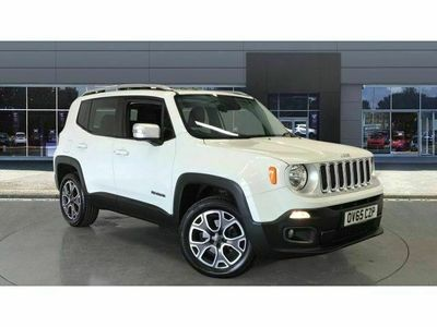 used Jeep Renegade 1.4 Multiair Limited 5dr 4WD Auto Petrol Hatchback