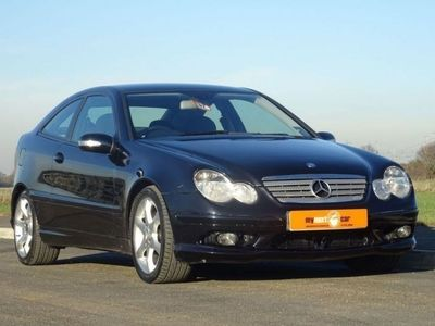 used Mercedes C200 C Class 2007 C-Class 2.1CDI SPORT EDITION 3d AUTO 121 BHP Coupe 2007
